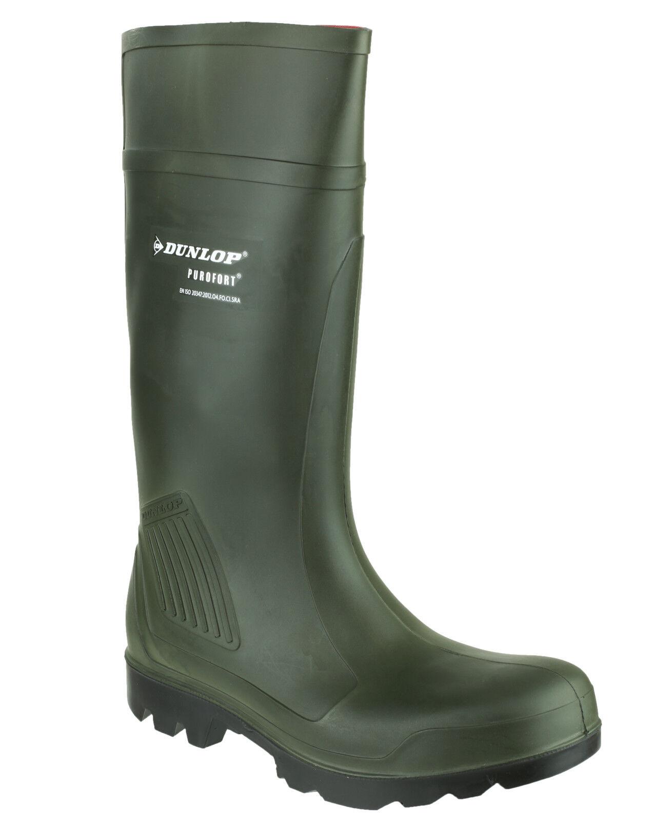 Stivali da lavoro Dunlop Purofort professionale completa