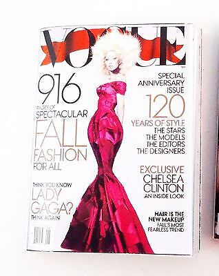 "Vogue with Lady Gaga mini-magazine for FR, Barbie, 12"" dolls"