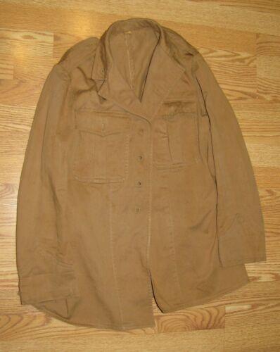 1926 Khaki USMC Tropical Drill Coat Jacket, Nice Displayable Condition