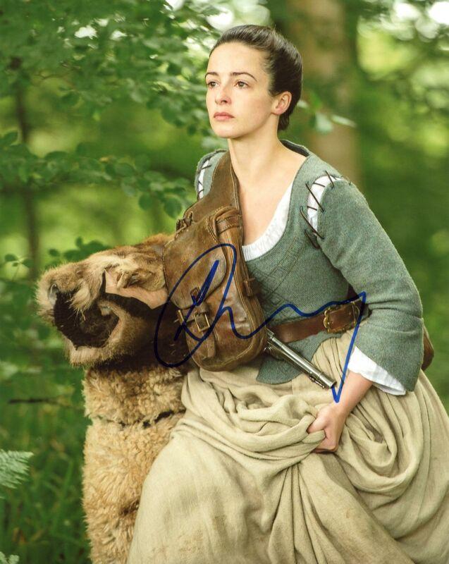 "Laura Donnelly ""Outlander"" AUTOGRAPH Signed 8x10 Photo C ACOA"