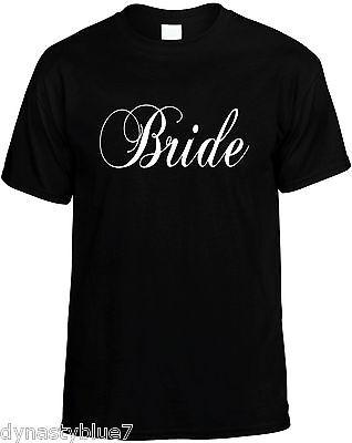 Wedding Party Ideas (Bride - Womens Wedding Party Novelty T-Shirt Bridal Gift)