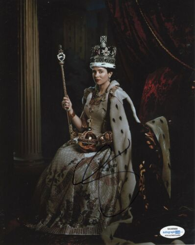 Claire Foy The Crown Autographed Signed 8x10 Photo ACOA