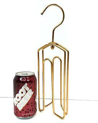 1950s Men's Ties, Bow Ties – Vintage, Skinny, Knit Vintage Brass Plate Hanger for Men's Ties, TIE-KING Mission Industries 1950's $13.96 AT vintagedancer.com