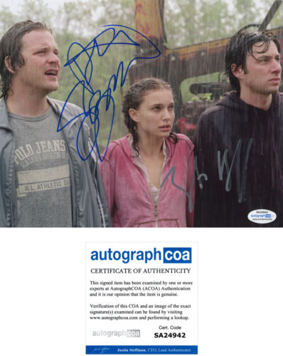 "ZACH BRAFF & PETER SARSGAARD signed Autographed ""GARDEN STATE"" 8X10 PHOTO - ACOA"