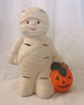 Mummy Halloween Candle Holder Vintage Kmart](Halloween Kmart)