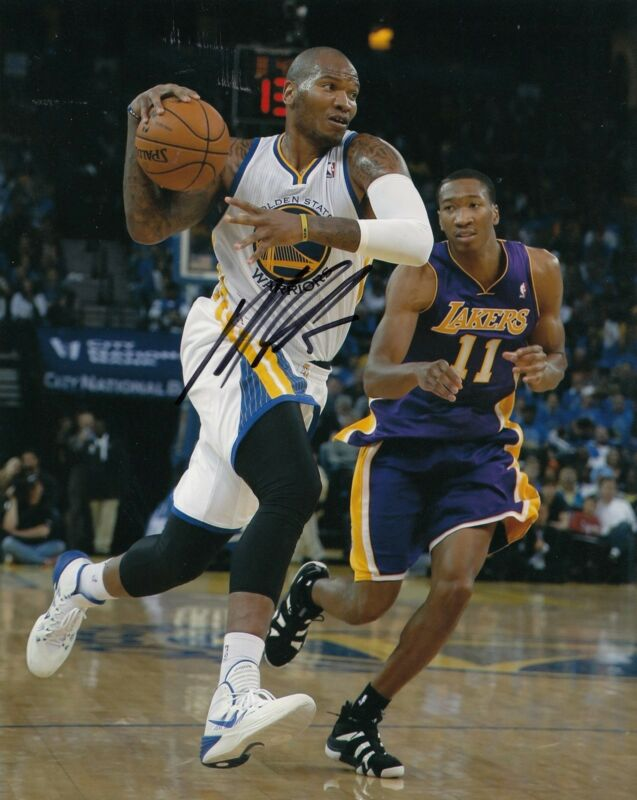 MARREESE SPEIGHTS signed *GOLDEN STATE WARRIORS* basketball 8X10 photo W/COA