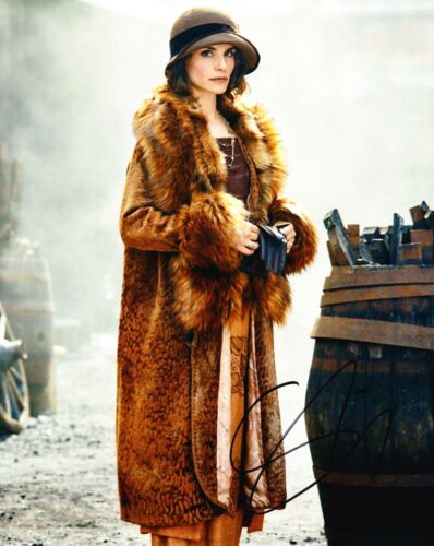 Charlotte Riley Signed 10X8 Photo PEAKY BLINDERS AFTAL COA (B)