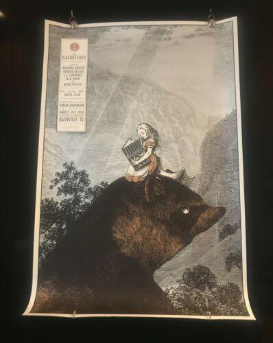 The Raconteurs Poster by Rob Jones 8/31/19 Night Three #271/333 Ryman Nashville