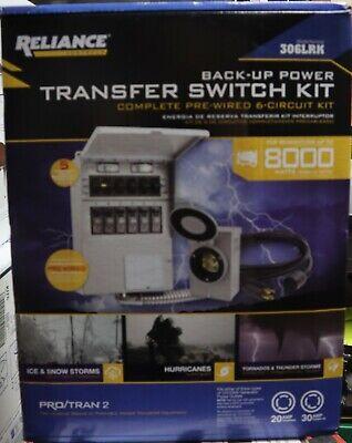 Reliance Transfer Switch Kit -306lrk