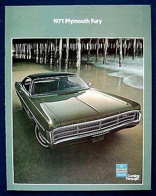 Prospekt brochure 1971 Plymouth Fury  (USA)