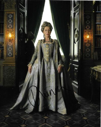 Helen Mirren Signed Catherine The Great 10x8 Photo AFTAL
