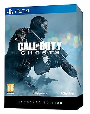 PS4 Call Of Duty Ghosts Hardened Edition Nuevo Precintado Pal España