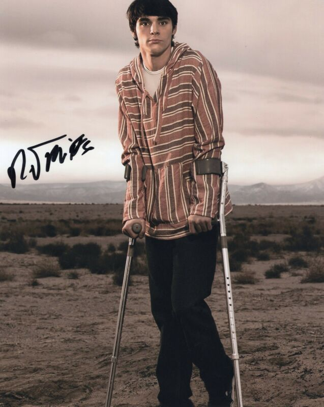 RJ Mitte Breaking Bad Walter White Jr. Signed 8x10 Photo w/COA #9