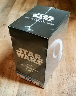 Star Wars: The Skywalker Saga Collection (Blu-ray, 18 Discs, Region Free) *NEW*