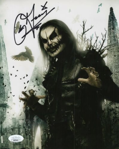 Dani Filth Autograph Signed 8x10 Photo - Cradle of Filth Lead Vocalist (JSA COA)