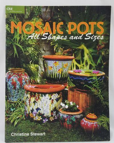 Mosaic Pots All Shapes and Sizes Christine Stewart Birdbath Birdhouse Jardiniere