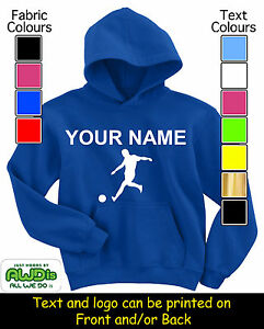 PERSONALISED-CHILDS-FOOTBALL-HOODIE-HOODIES-GREAT-KIDS-GIFT-NAMED-TOO