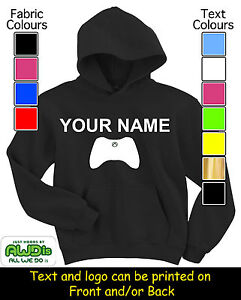 PERSONALISED-XBOX-GAME-CONTROLLER-HOODIE-HOODIES-GREAT-KIDS-GIFT-NAMED
