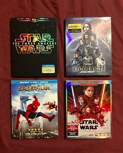 Star Wars Marvel Blu Ray Brand New Never Opened