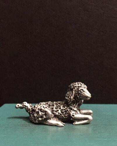 H Wilson Hudson Pewter Christmas Nativity Lamb Sheep Animal Miniature Figurine