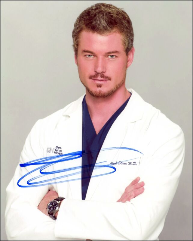 "Eric Dane ""Grey's Anatomy"" AUTOGRAPH Signed 8x10 Photo"