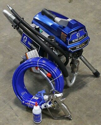 Graco Ultra Max Ii 490 Pc Pro Electric Airless Sprayer Stand 17c327