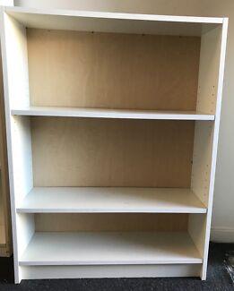 3 tier bookcase/ bookshelves