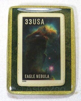 ART STUFF-Stamp Pins-EAGLE NEBULA Serpens M16 Pillars Creation Space Astronomy  for sale  Philadelphia