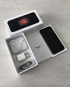 IPHONE SE, 32GB, NOIR, DÉBLOQUÉ, COMME NEUF !!!