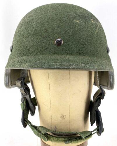 USMC Lightweight LWH helmet Pad Suspension System 4 point chinstrap MEDIUM