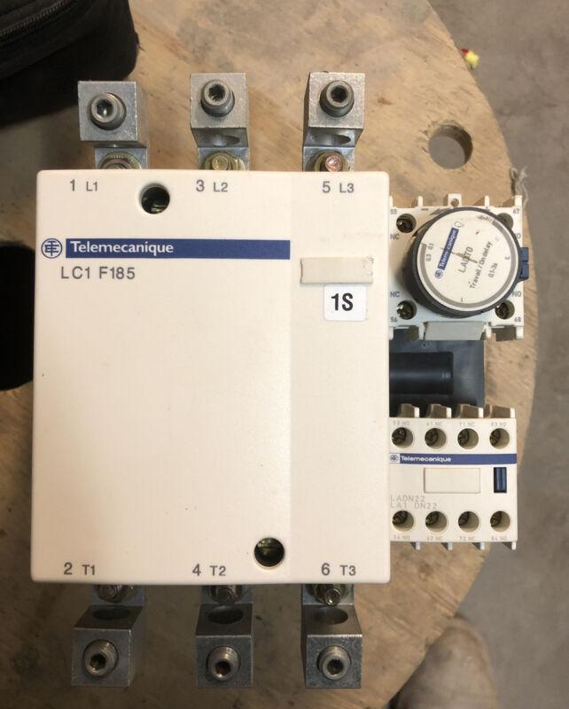 Telemecanique LC1F185 Contactor 200 Amp 600V 150HP 200-208v Coil 3P 200A