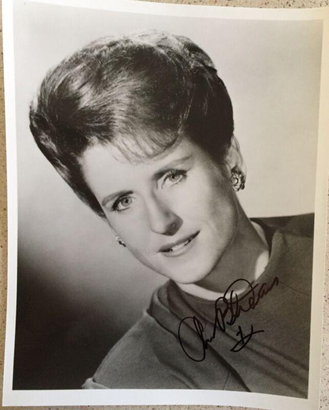 """Ann B. Davis Signed Photo 8""""X10""""  B&W Alice Of The Brady Bunch"""