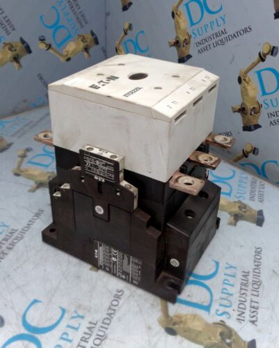 EATON XTC(E)(S)225L 24-48 VDC 3 POLE CONTACTOR W XTCEXSBN11 AUXILIARY CONTACT