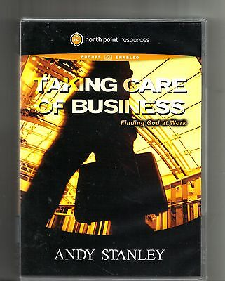Andy Stanley Taking Care Of Business   2005  Dvd  6 Sessions  North Point