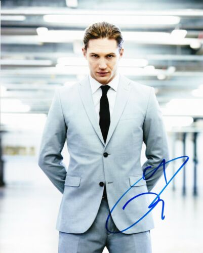 Tom Hardy Signed 10X8 PHOTO AFTAL COA (5656)