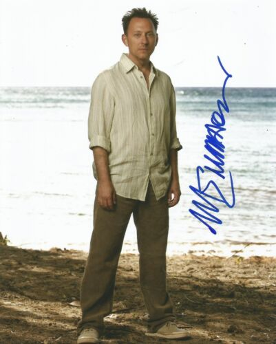 Michael Emerson Signed Lost 10x8 Photo AFTAL