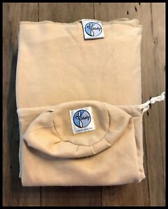 EUC Moby Baby Wrap in Sand (with bag)