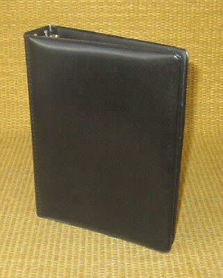 Compact 1 Rings New Black Durable Franklin Covey Open Plannerbinder Usa