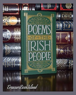 Poems of the Irish People Poetry  Brand New Pocket Leather Bound Collectible Ed