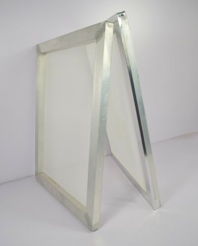"""2 pc Screen Printing Aluminum Frame with 120M Silk Screen Pre-streched 10"""" x 15"""""""