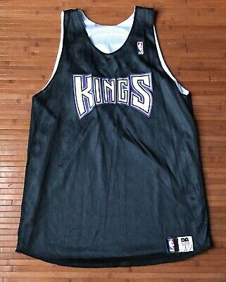 Sacramento KINGS Reversible Basketball NBA Jersey Alleson Athletic Size L