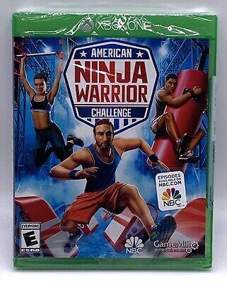 American Ninja Warrior Challenge Xbox One Brand New Sealed