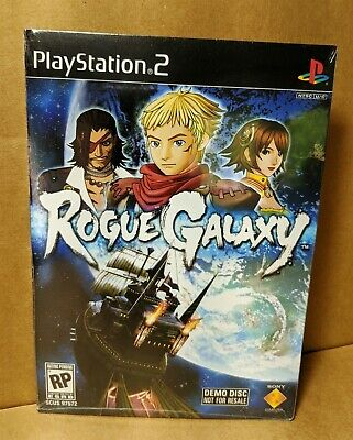 Demo Disc NIP Sony PlayStation 2 ROGUE GALAXY Brand New & Factory Sealed PS2