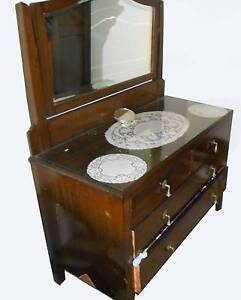 1920's Dresser with Mirror North Strathfield Canada Bay Area Preview