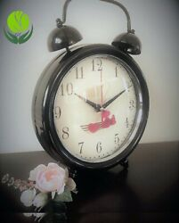 Desk Clock, Desk Clock,Vintage Metal Design Table Clock,