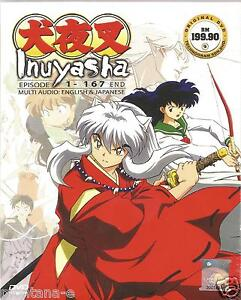 Anime Inuyasha Ep. 1-167 End Complete ENGLISH VERSION DVD Box Set