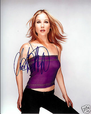 CHRISTINA APPLEGATE AUTOGRAPH SIGNED PP PHOTO POSTER