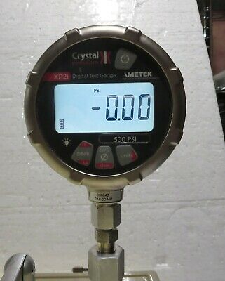 Ametek Crystal Digital Pressure Calibrator Xp2i 500 Psi