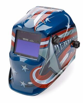 Lincoln Electric Viking 1840 All American Auto Darkening Welding Helmet K3173-3