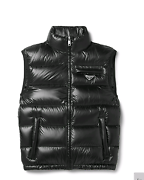 PRADA Quilted Ripstop Down Gilet  - Size IT 44 Southbank Melbourne City Preview